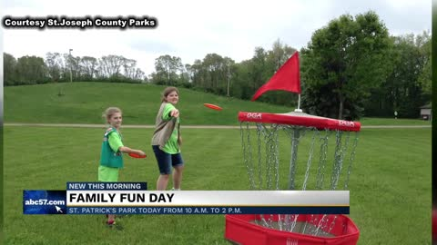 Family Fun Day at St. Patrick's Park